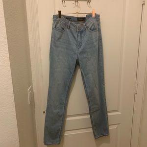 Talbots slim ankle 5 pocket jeans , size 10